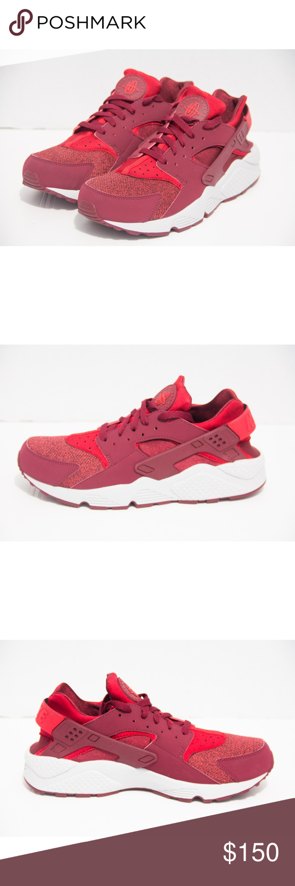 new concept 3a02c 116af Nike Air Huarache Mens Size 10 Team Red 318429-605 Brand new without box  Color