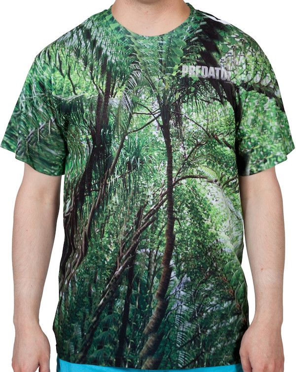 3f6ab70a Hide In Plain Sight With This Predator Camo Sublimated T-Shirt ...