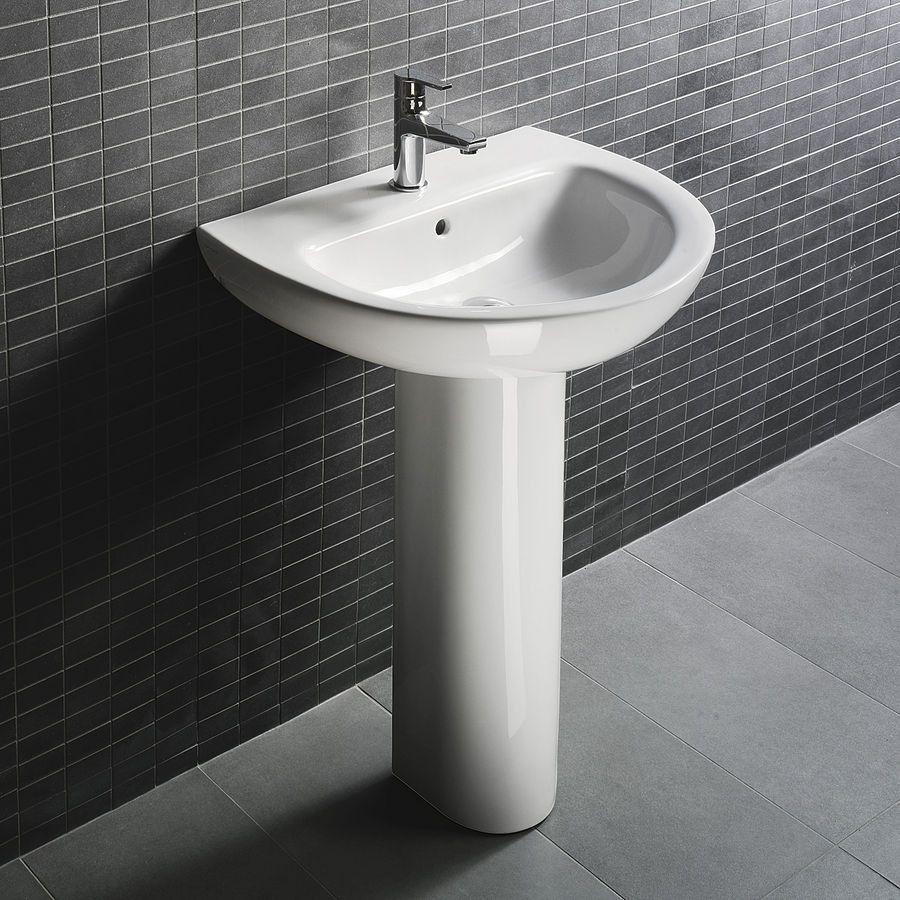 Bathroom Vanities And Pedestals D4009 Bathroom Pedestal Sink