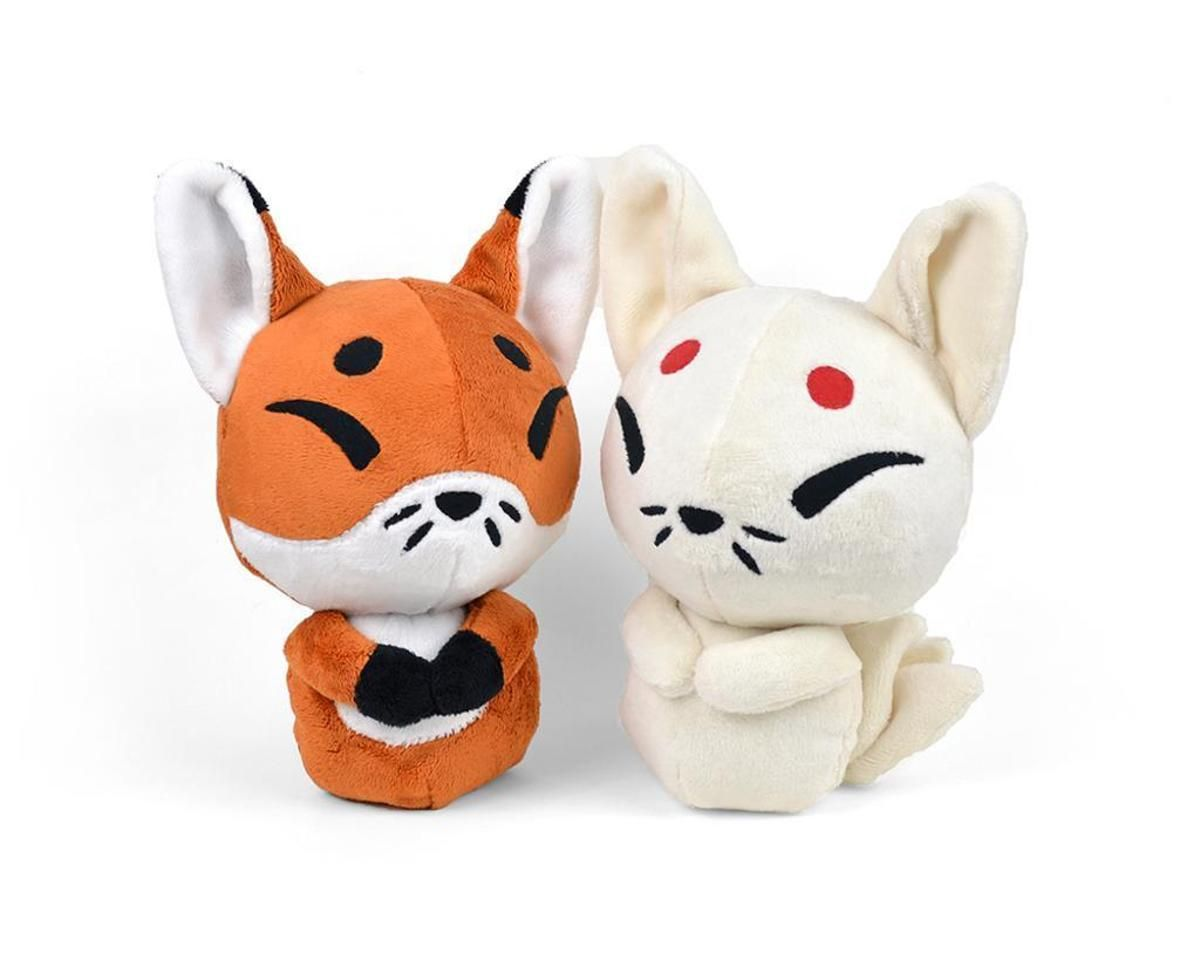Fox Kitsune Plush Toy Stuffed Animal