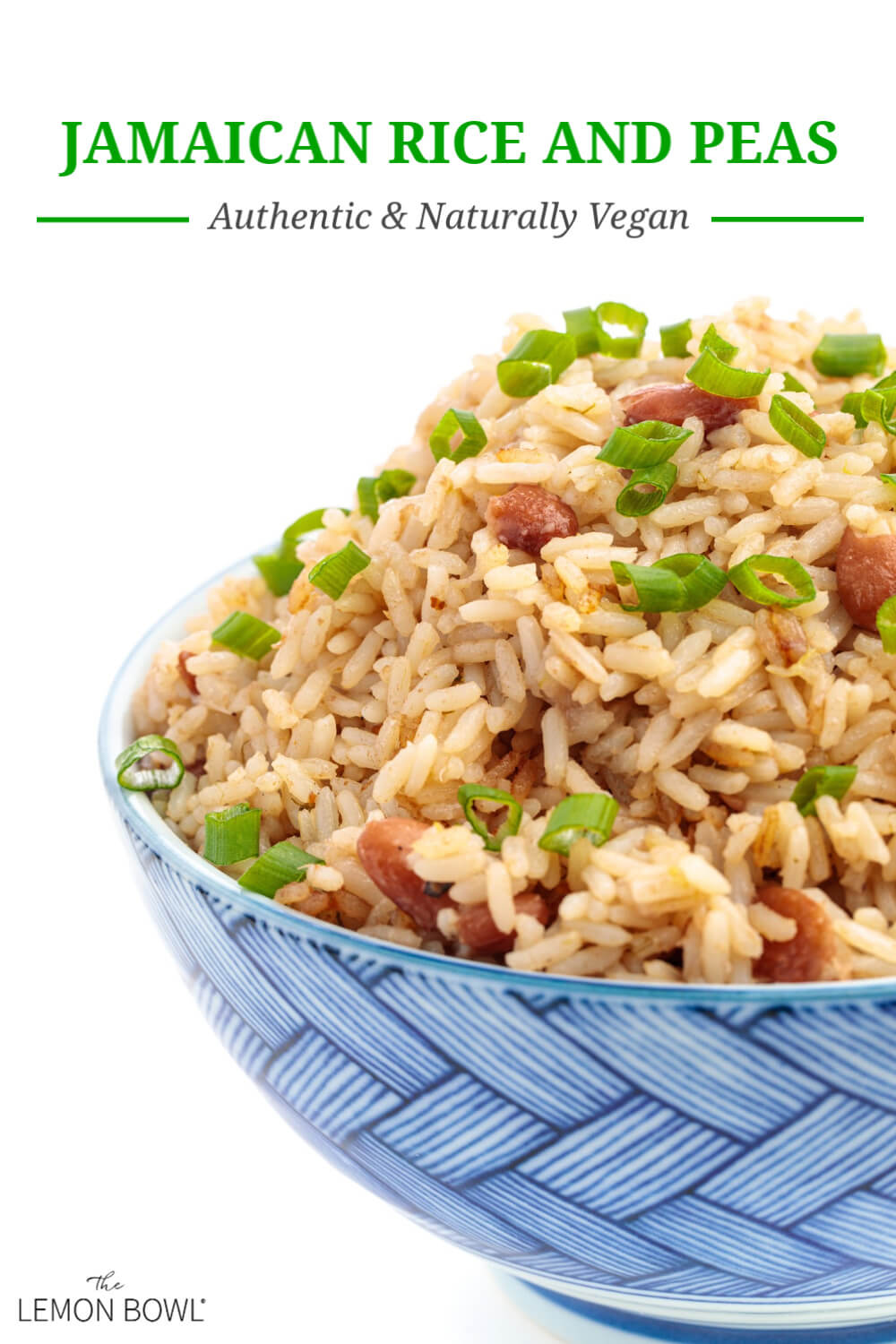 jamaican rice and peas  recipe in 2020  rice and peas