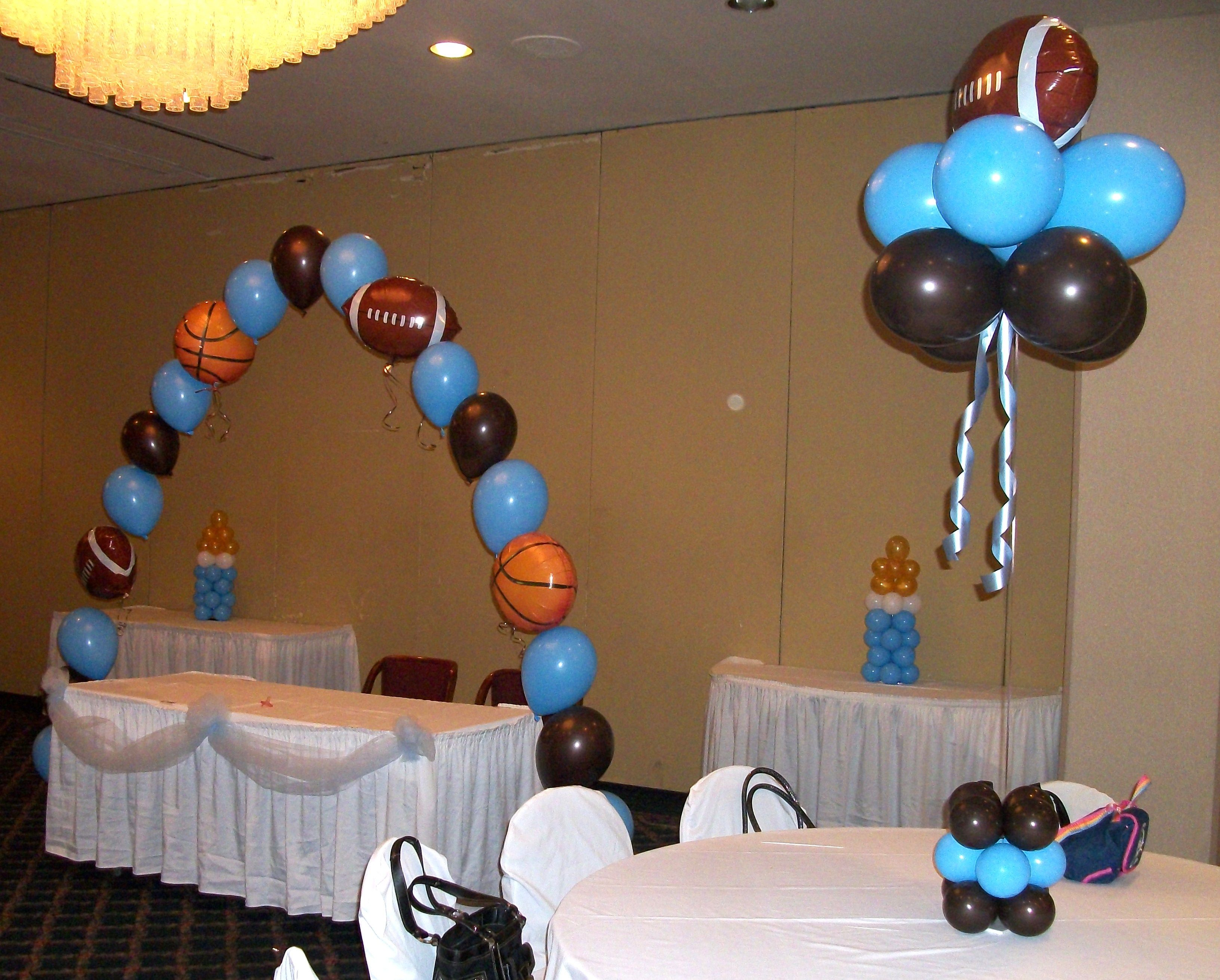 sports theme for baby shower Sports Themed Baby Shower