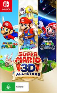 Switch Pre Order Super Mario 3d All Stars 63 32 Delivered The Gamesmen Ebay In 2020 Super Mario All Stars Super Mario 3d Super Mario Sunshine