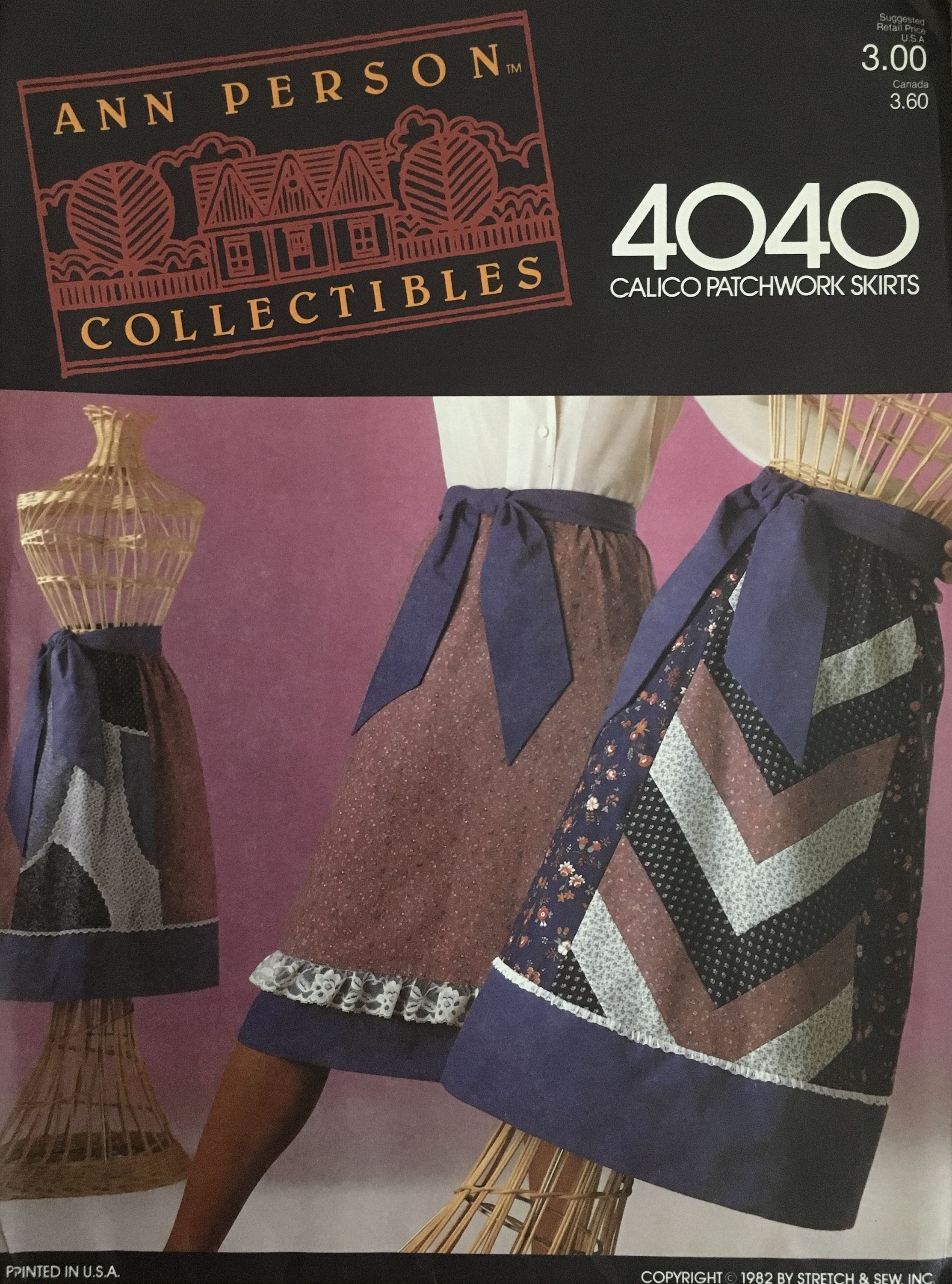 Stretch & Sew 4040 Sewing Pattern (Vintage) UNCUT by ANAPACLOTHING on Etsy