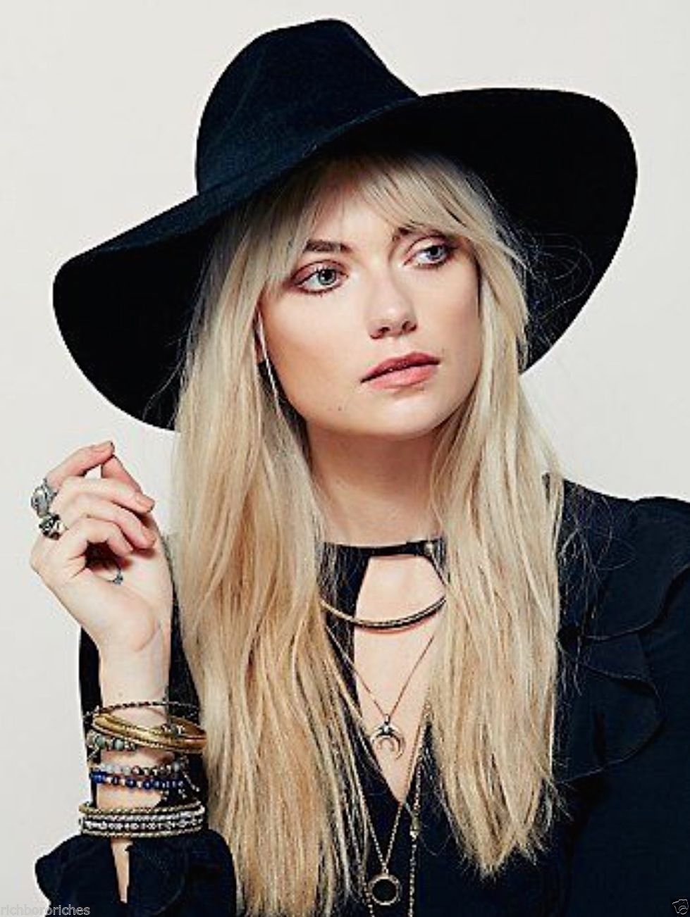 Free People s widest brimmed boho hat
