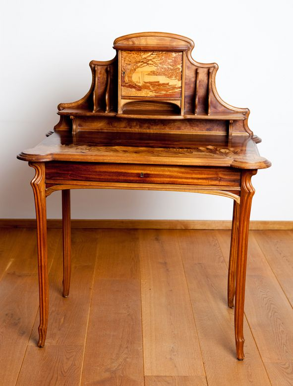 Unusual Desks writing desk 1900 emile galle (france 1900) | furniture worth