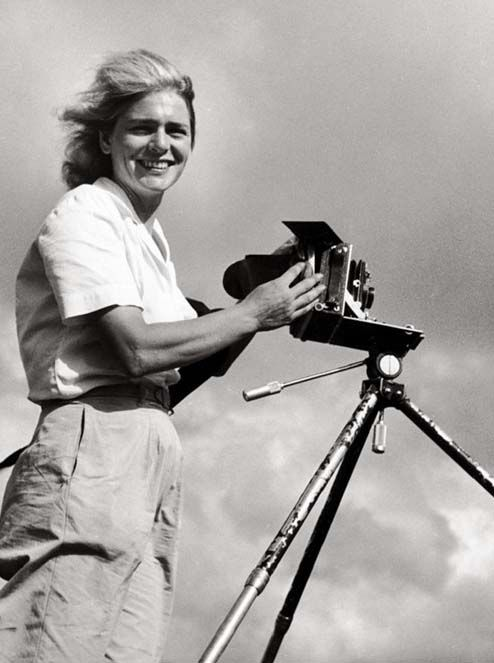 Margaret Bourke-White. Margaret is an AOII alumna of Omicron Pi Chapter and was the first female war correspondent/first female permitted to work in combat zones. She was also the first female photographer for Life magazine and the first female to have her photo on the cover!
