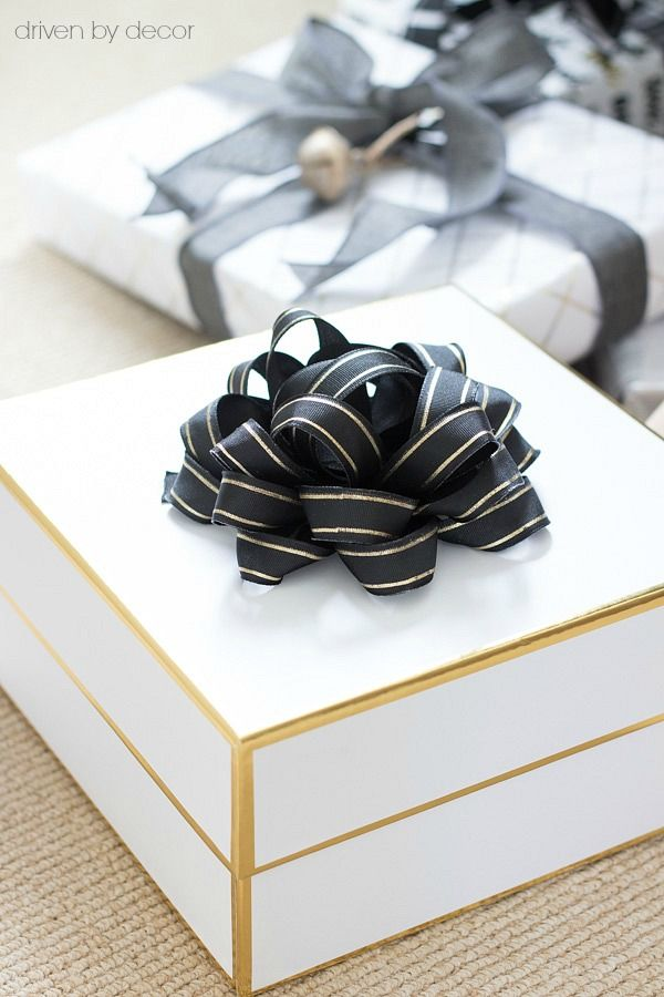 Simple Ideas For Wrapping Your Christmas Presents Last Minute