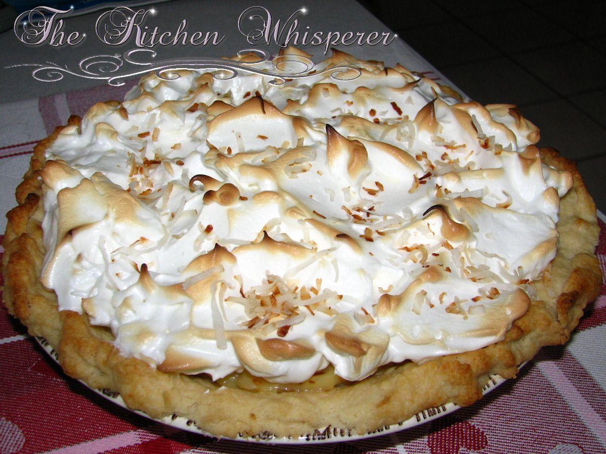The Kitchen Whisperer Coconut Cream Pie