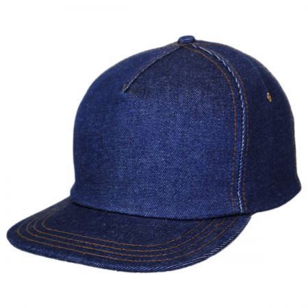 Denim Strapback Baseball Cap Dad Hat  253a8fc49b5
