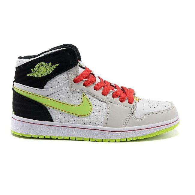 best loved 97e5b 93a2a 580514-150 Air Jordan Retro 1  93 White Electric Green-Black-Neutral  Grey-Gym Red