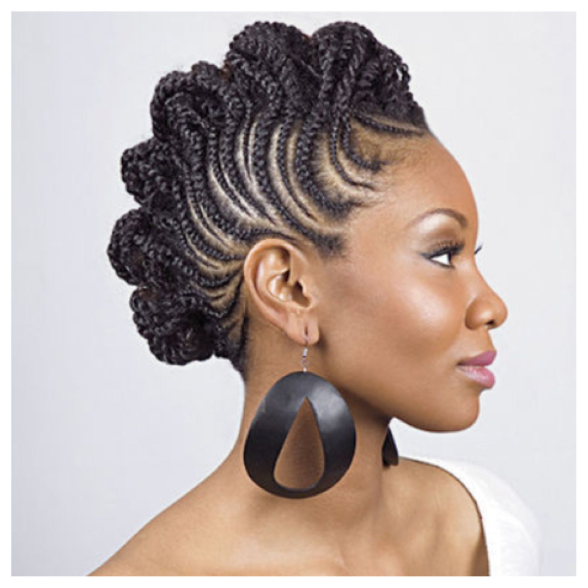 Cute updo natural hairstyles pinterest updo and hair inspiration