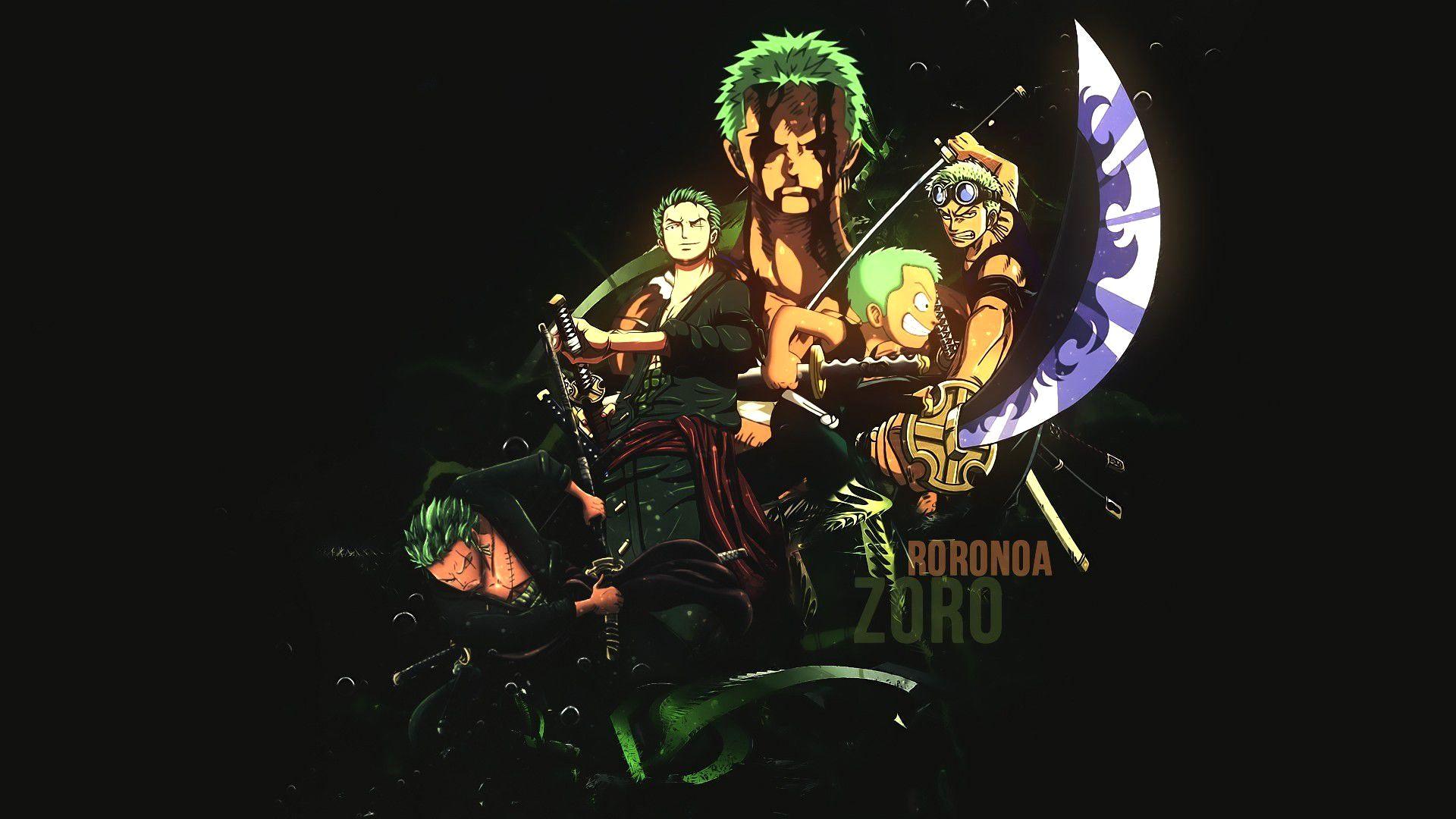 Wallpaper 4K Zoro Trick