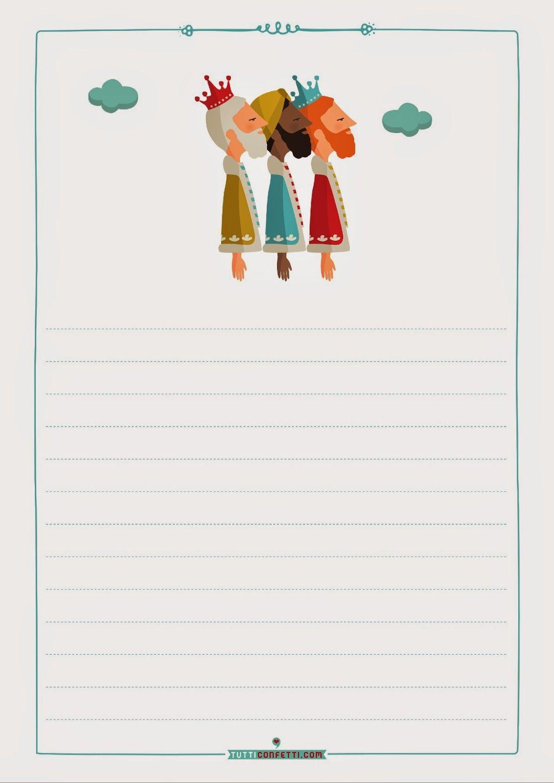 Worksheet. Carta a los Reyes Magos para imprimir  Para Nios Con Cabeza