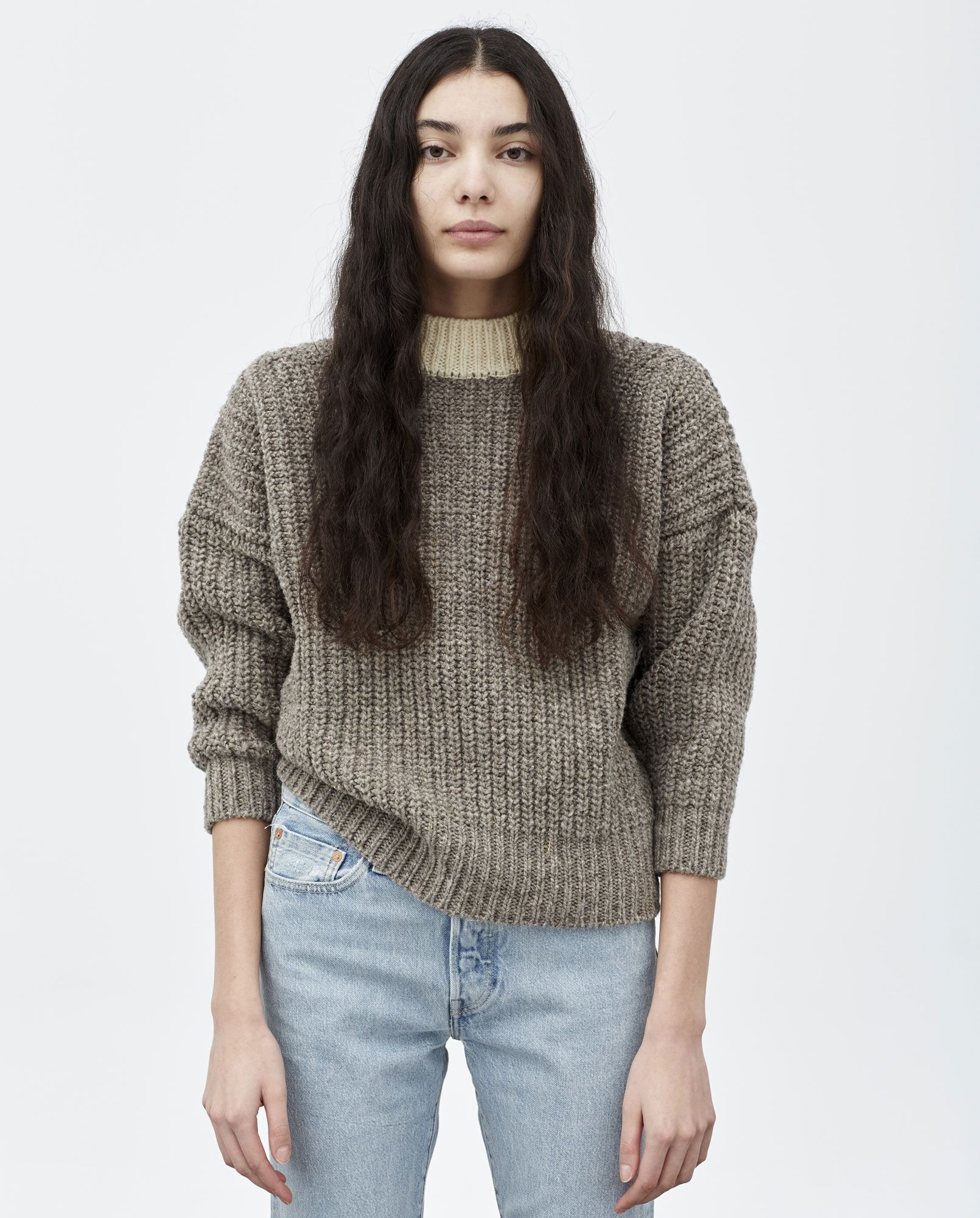 daa538eef52 jumper woman no19 oversized natural | closet in 2019 | Jumpers for ...