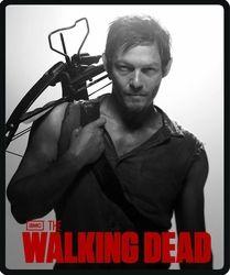 Walking Dead Daryl Fleece Blanket