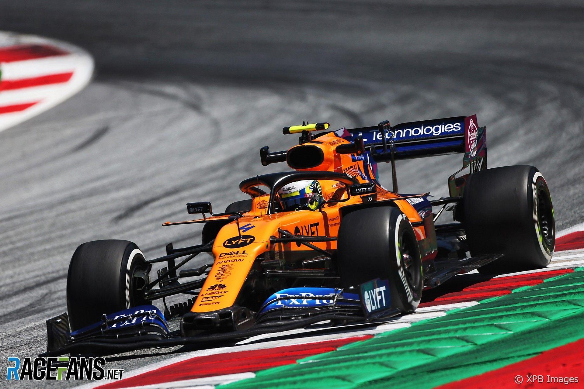 Lando Norris Mclaren Red Bull Ring 2019 Norris Mclaren Austrian Grand Prix