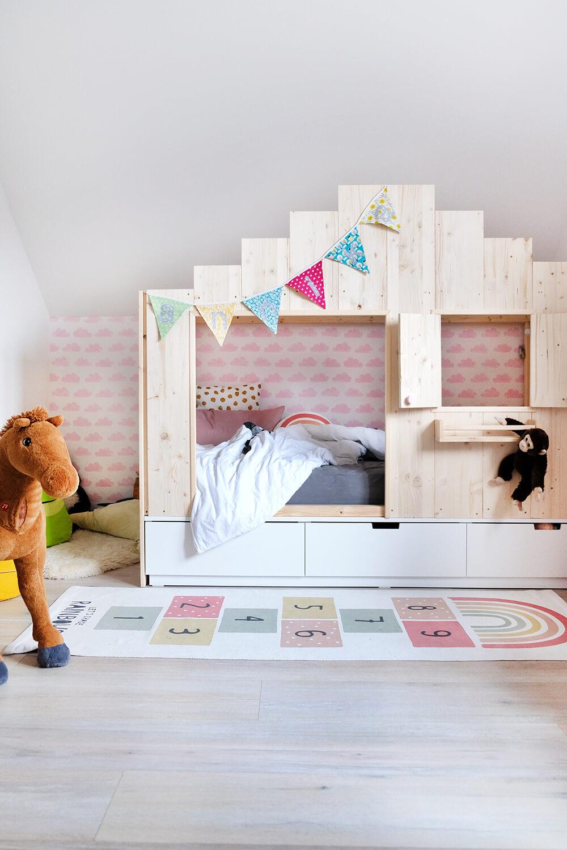 DIY Bett für das Kinderzimmer Wie aus dem Ikea Nordli