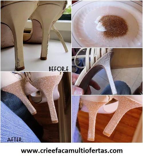 33bbb376de37 Old shoes to new   Schuhe   Schuhe, Bastelei und Basteln