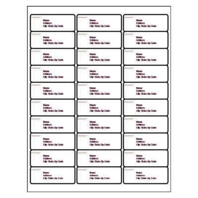 Avery 30 per page avery address labels free template for Avery 30 up label template