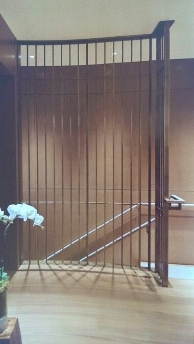 Best Brass Tube And Flat Bar Stair Screen And Handrail With 640 x 480