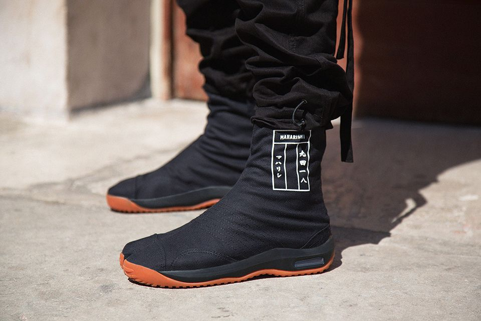 30d25e2259b Be an Urban Ninja with Maharishi's Split Toe Maha Tabi Boots ...