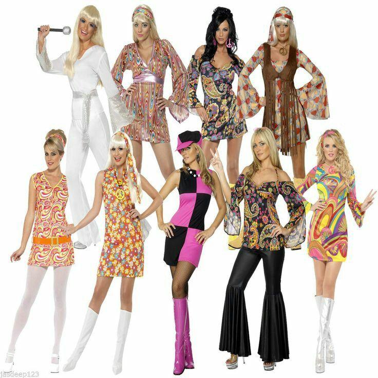 Moda anos 70 Feminina | Moda Hippie Anos 70