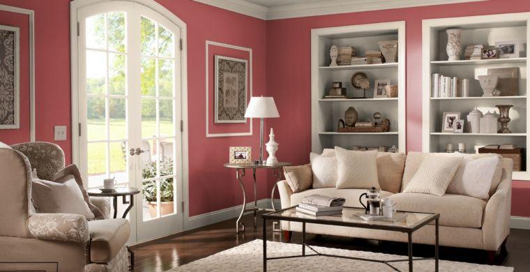 Pintura Para Paredes Los Colores Modernos Esta Temporada Pinturas De Pared Pintar El Salon Decoracion De Interiores