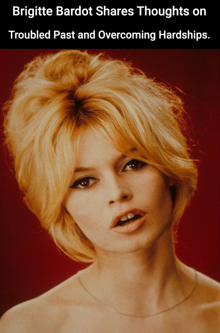 Photo of Brigitte Bardot Shares Thoughts on Troubled Past and Overcoming Hardships.