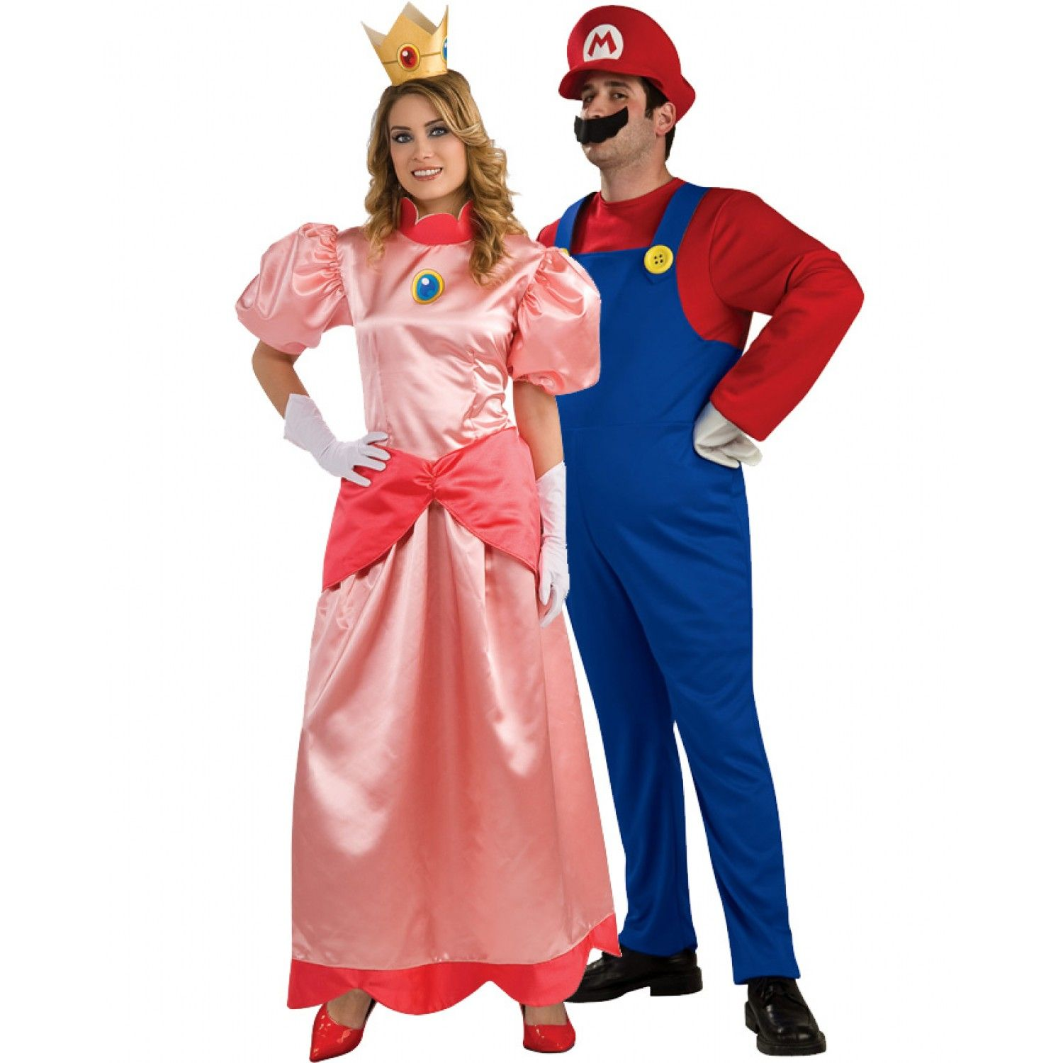 Super Mario and Princess Costume Image | Halloween Party | Pinterest
