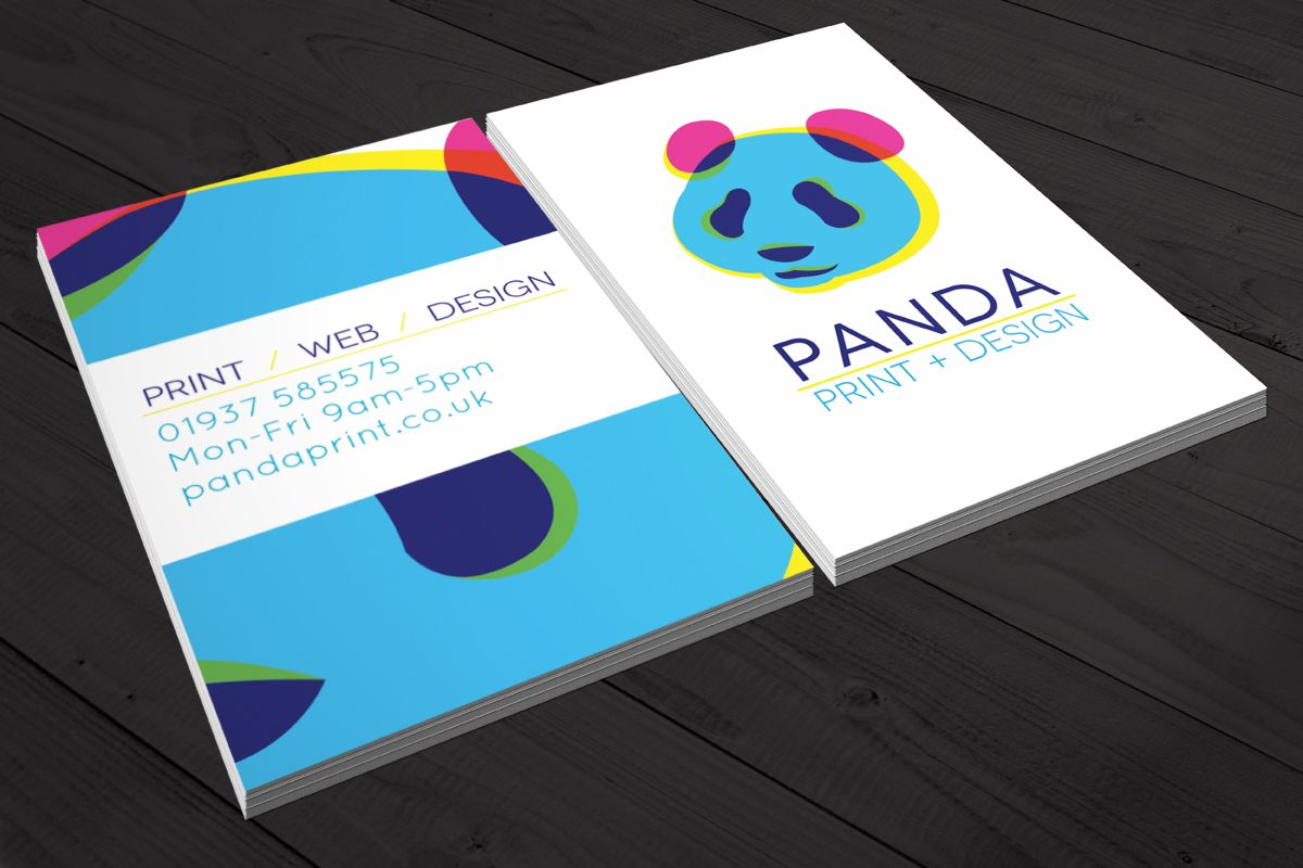 Panda business card cards pinterest business cards business at printworks online we provide a range of custom business card printing options including die cuts foil emboss effects reheart Choice Image