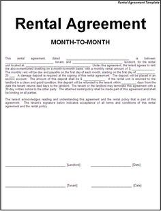 Printable Sample Simple Room Rental Agreement Form  Roommate