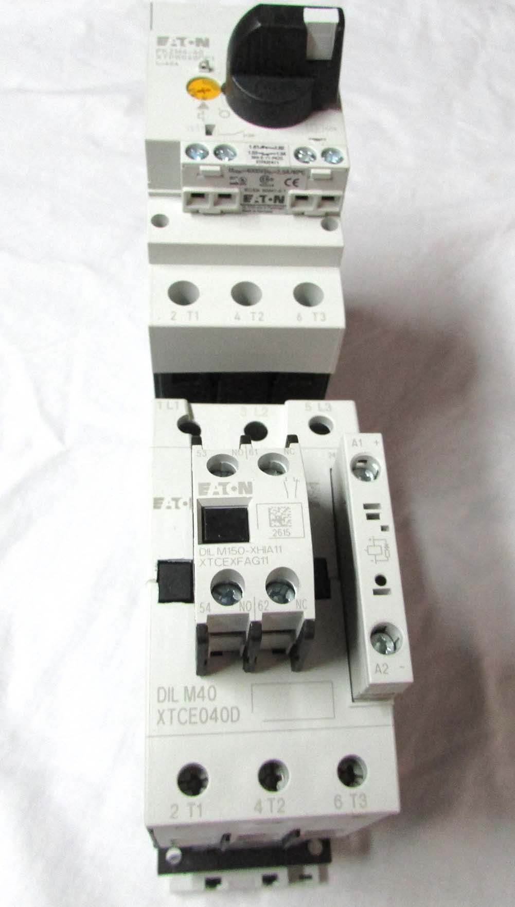 Eaton XTSC040DDTD-JW1 Manual Motor Controller/Starter