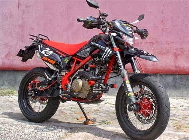 Modifikasi Klx 150 Supermoto Supermoto Pinterest Motorcycle
