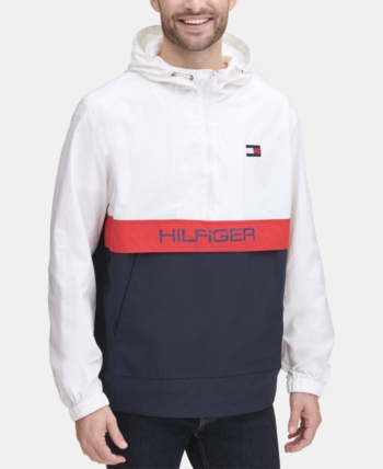 Tommy Hilfiger Men Taslan Popover Jacket in 2019 | Tommy