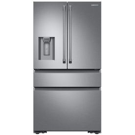 Samsung 22 7 Cu Ft 4 Door Counter Depth French Refrigerator Single Ice
