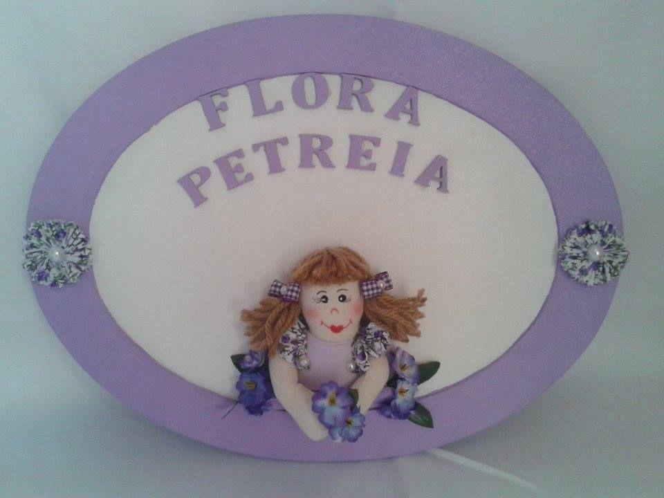Porta Maternidade - Flora