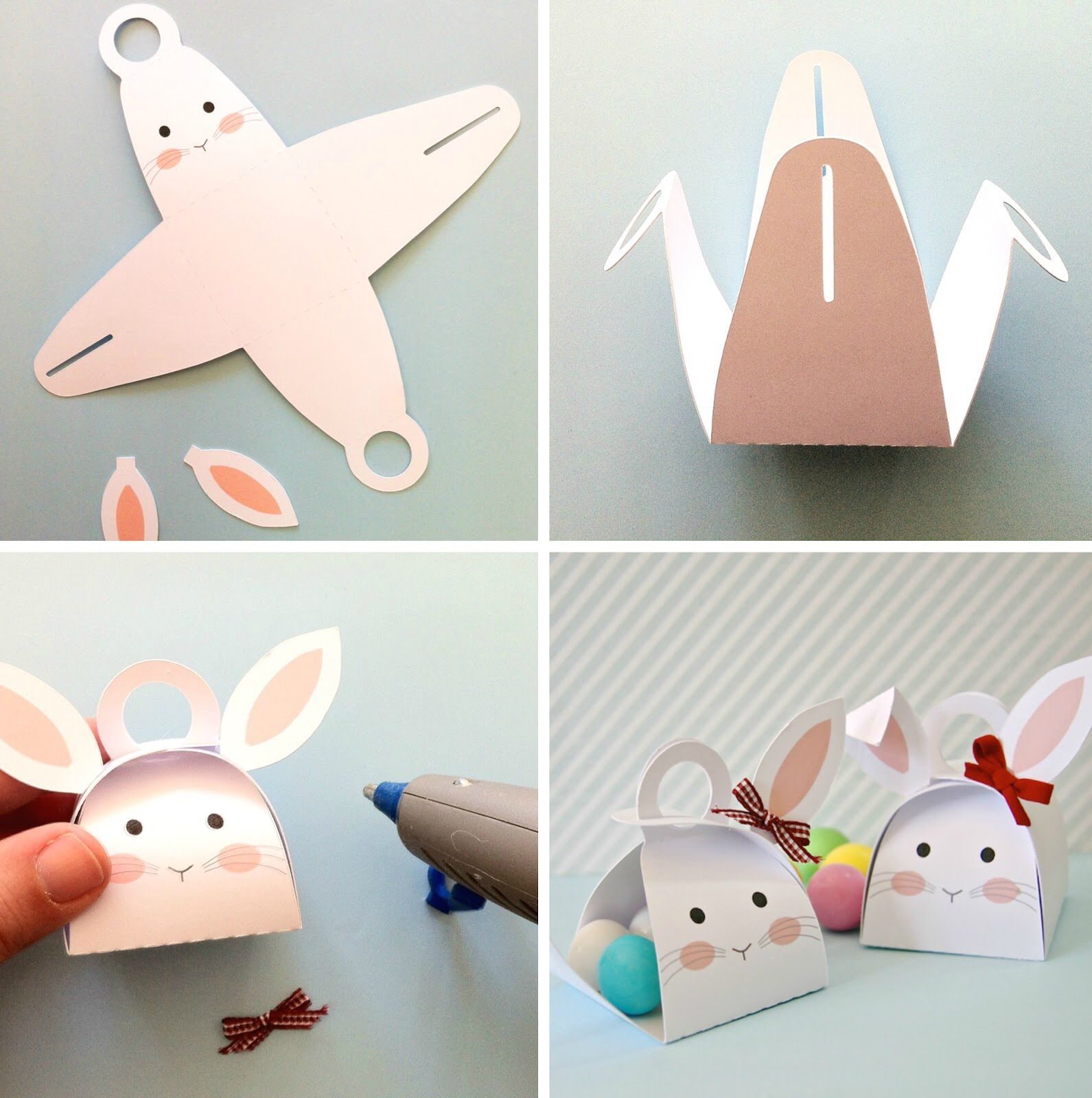 Pin by angelika knoth on basteln pinterest easter keepsakes and tutorials easter cupcakesbunny craftseaster craftsgift box templatesrund negle Images