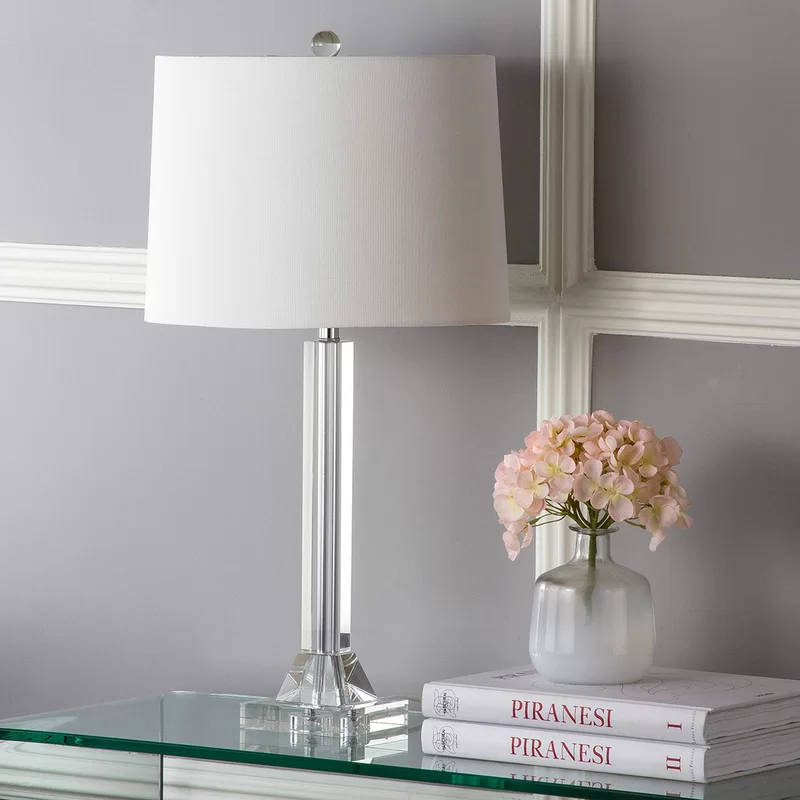 Ellisville 27 Clear Glass Table Lamp Lamp Clear Glass Table Lamp Glass Table Lamp