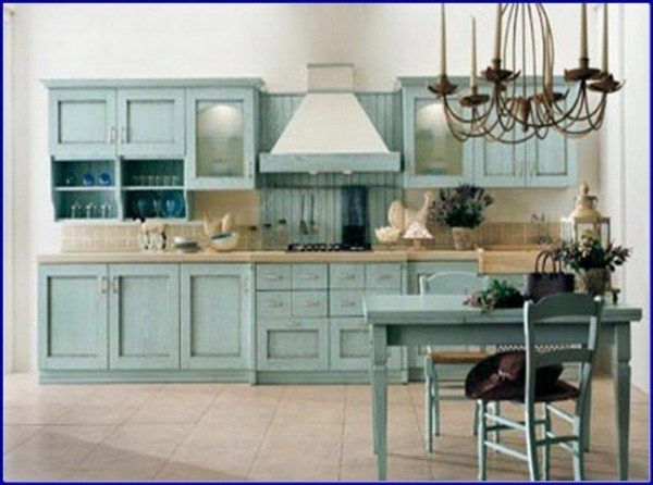 Creating A Stylish Kitchen With Country Kitchen Cabinets ...