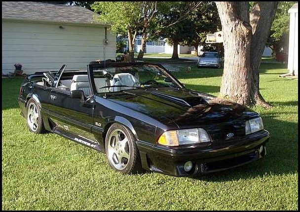 1990 Ford Mustang Cobra Convertible 5 Speed Mecum Auctions Ford Mustang Cobra Mustang Cobra Ford Mustang