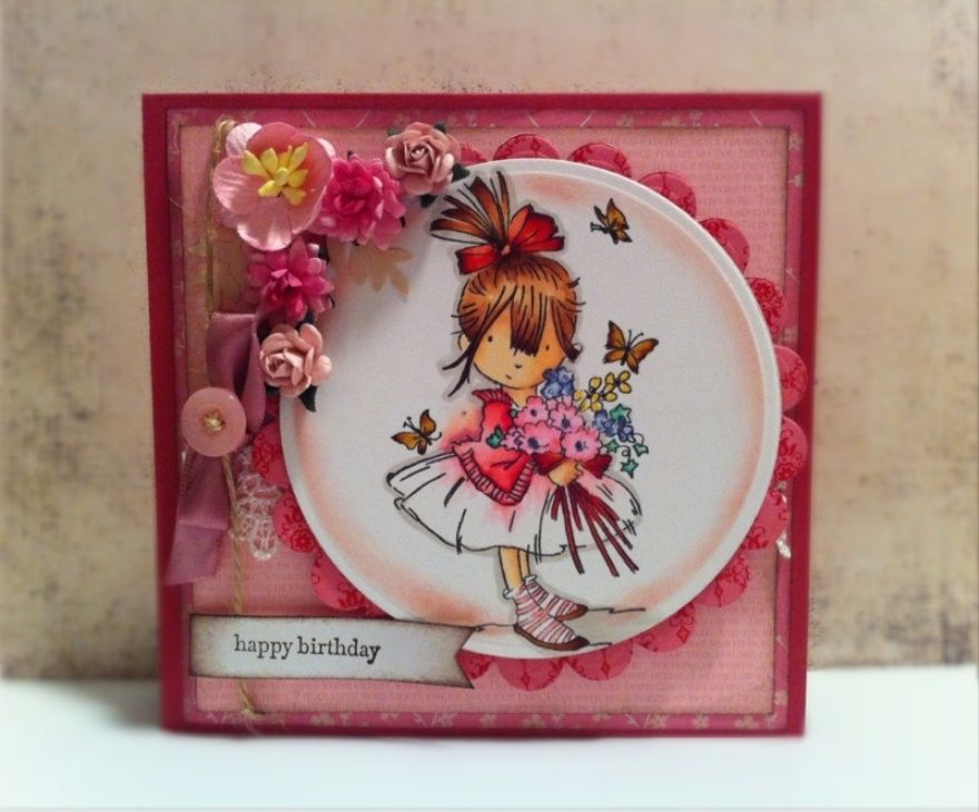 Greeting Cards Making Ideas Part - 23: Image Result For Handmade Walking The Dog Greeting Cards