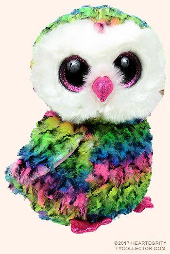 Owen (regular) owl - Ty Beanie Boos  6f76660eab91
