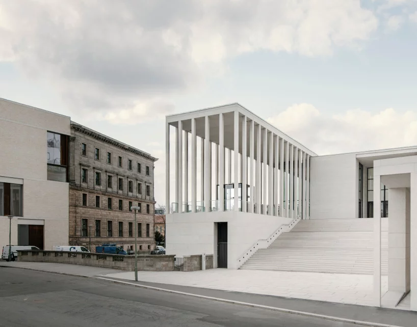 David Chipperfield Completes James Simon Galerie In Berlin David Chipperfield Architects Architect Architecture