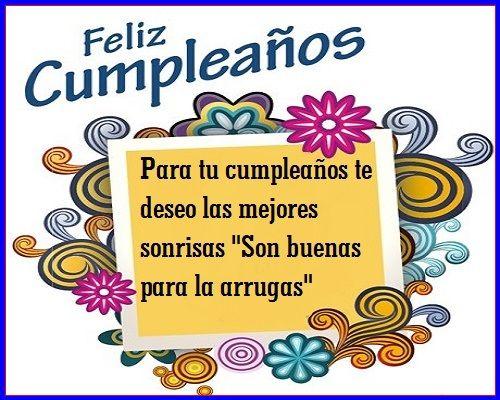 Frases Graciosas De Feliz Cumpleaños Para Amiga Feliz