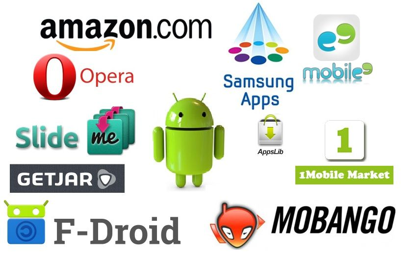 Alternative App Stores List For Android App App, Android