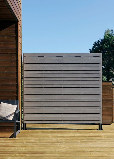 Palissade, claustra  quelle clôture protège mon jardin des voisins ? - palissade en pvc jardin