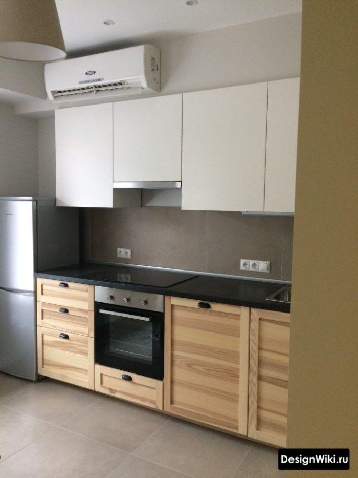 Белая Кухня с Деревянной Столешницей: 93 Фото и 3 частых ...