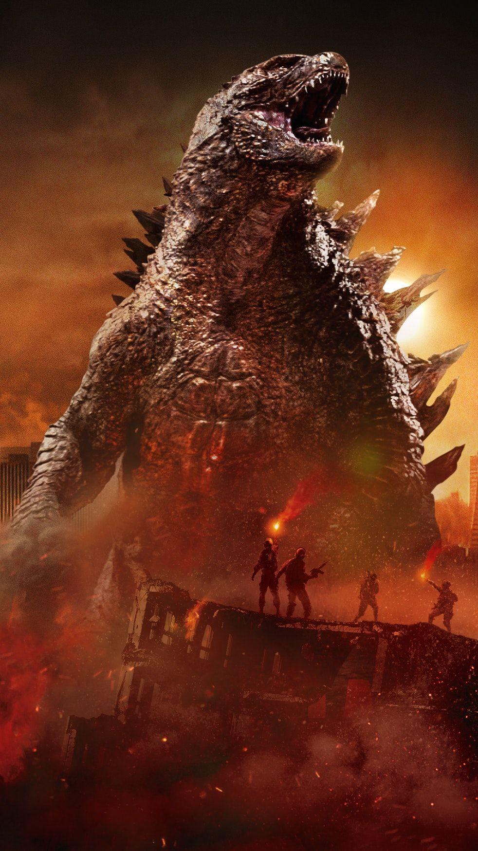 Godzilla (2014) Phone Wallpaper Godzilla, Godzilla
