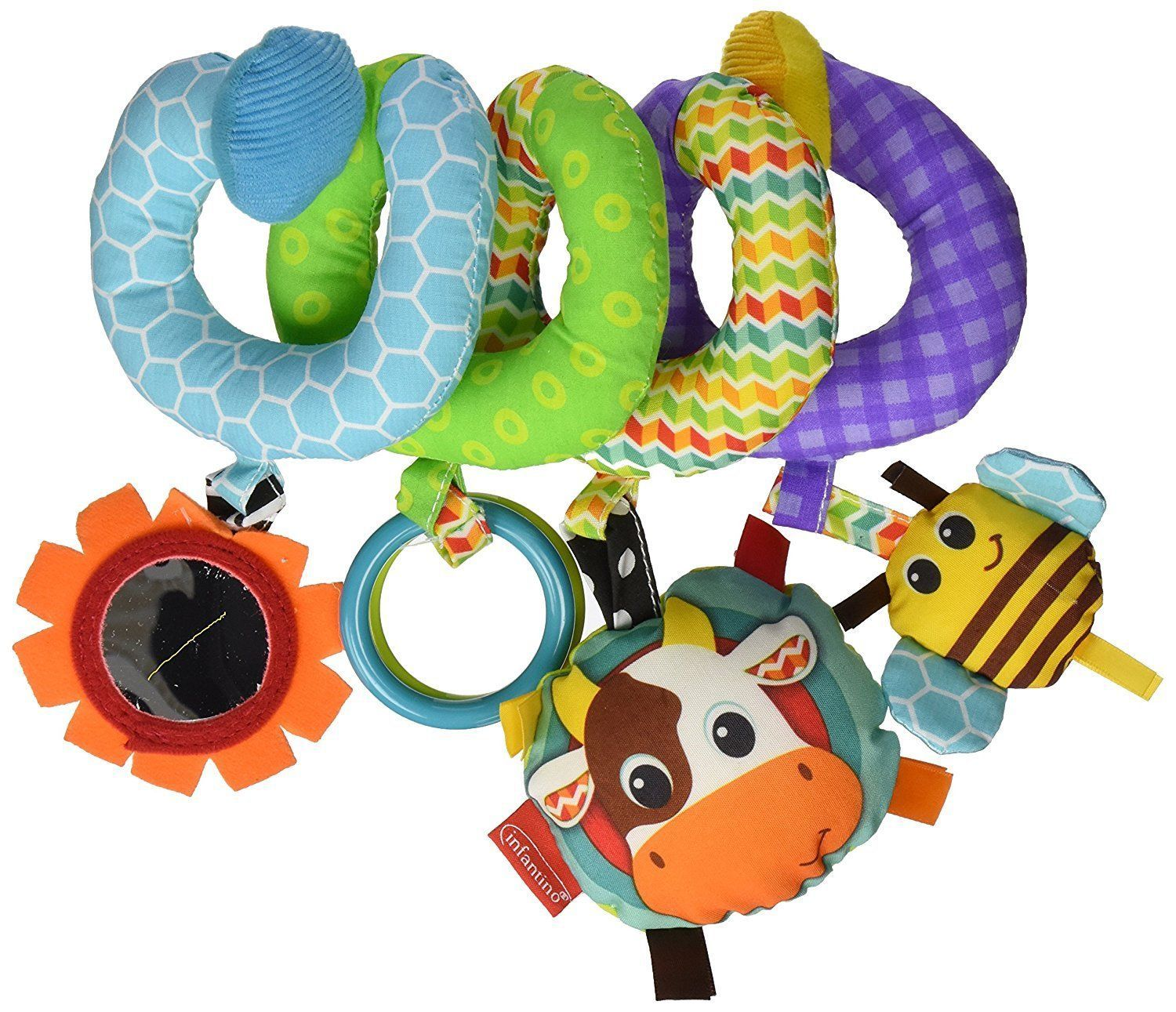 Car hanging toys  Baby Infant Toy Spiral Activity for Stroller Car Seat or Crib NEW